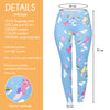 Regular Leggings (8-12 UK Size) - Kitticorn - Kukubird_UK