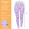 Regular Leggings (8-12 UK Size) - Zebracorn - Kukubird_UK