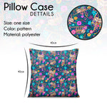 Pillow - Sloth Meadow Garden - Kukubird_uk Leggings, Tights