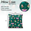 Pillow - Tropical Funny Sloths - Kukubird_UK