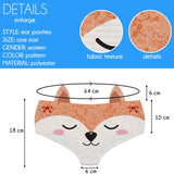 Ear Pantie - Foxy (6-10 UK Size) - Kukubird_UK
