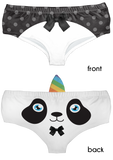 Dapper Pandacorn Horn Pantie - Kukubird_uk Leggings, Tights