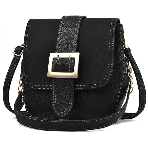59afdd687529 Women Handbag Leather Women Messenger Bag Shoulder Crossbody Handbags  Luxury Handbags Women Bags Designer Chain Rivets