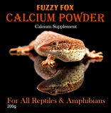 Calcium Powder - Fuzzy Fox Reptiles and Rodents