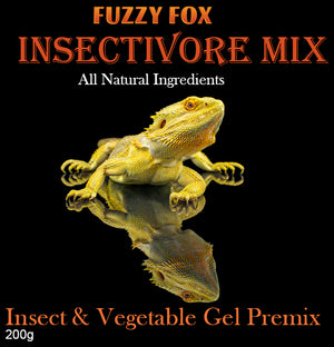 Insectivore Gel Pre-mix - Fuzzy Fox Reptiles and Rodents