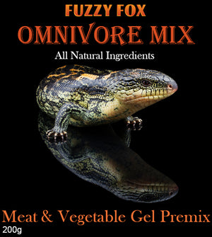 Omnivore Gel Pre-mix - Fuzzy Fox Reptiles and Rodents