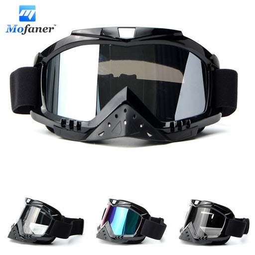 Lunettes Motorcycle Motocross Goggle Eyewear Glasses Dirt Bike Racing Riding Off Road ATV