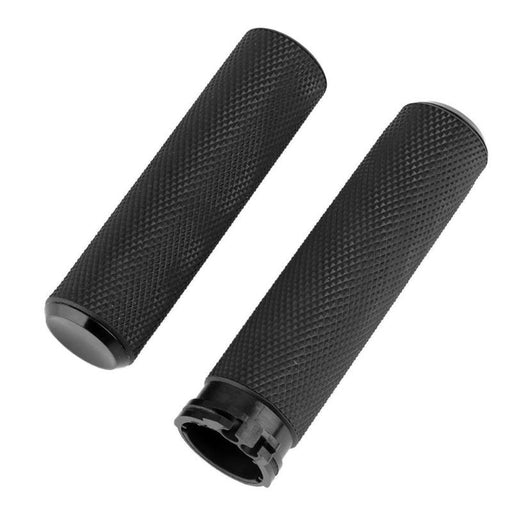 "2Pec/Pair 1"" Motorcycle Handlebar Grip Rubber Motorbike Hand Grips For Harley Sportster Softail Motor Handle bar Accessories"