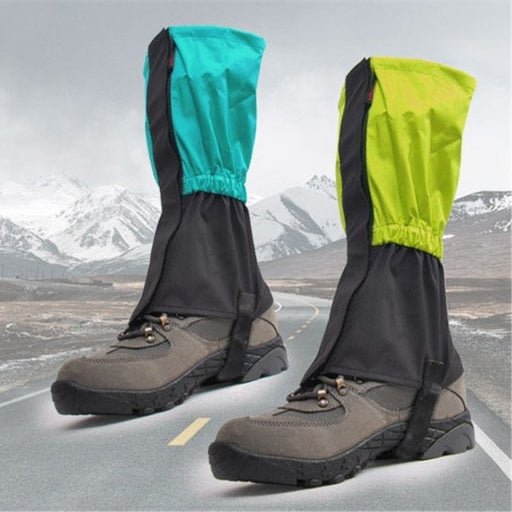 BSAID 1 Pair Gaiters Snow Cover, Waterproof Breathable Keep Warm Cycle Climbing Boots Gaiter Outdoor Sport FreeSize Man Women
