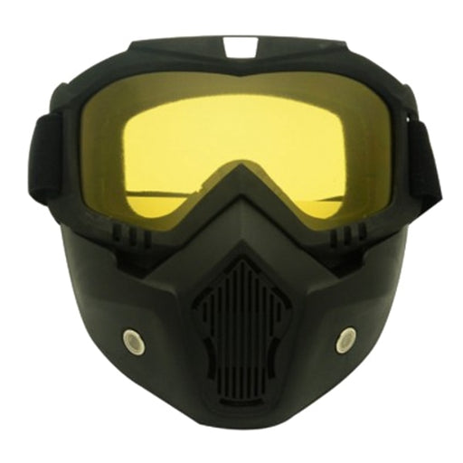 Motorcycle Protective Goggles and Face Mask Shield