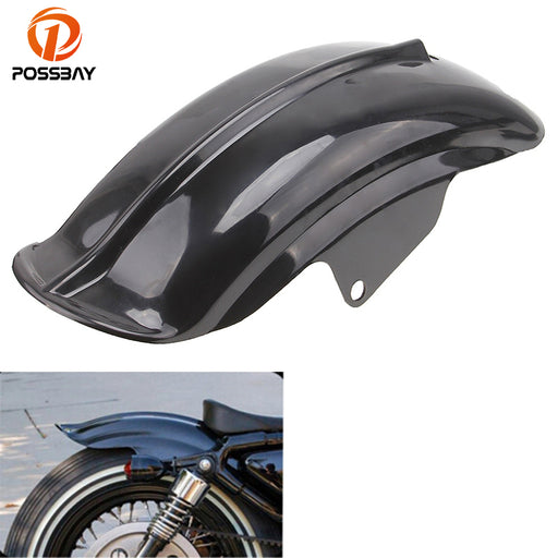 POSSBAY Motorcycle Rear Mudguard Fender Cafe Racer Superior For Harley Sportster 833 1200 XL Bobber Chopper 1994-2003 C10 ATV