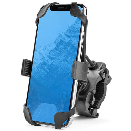 Universal Premium Bike Phone Mount for Motorcycle - Bike Handlebars, Adjustable, Fits iPhone , Galaxy , Holds Phones Up To 3.5