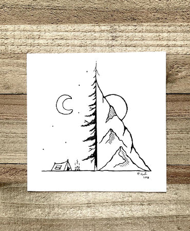 Favorite Place 4x4 Art Print