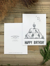 Load image into Gallery viewer, Greeting Card | Desert Birthday Cake