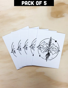 Greeting Card Pack of 5 | Nature's Way