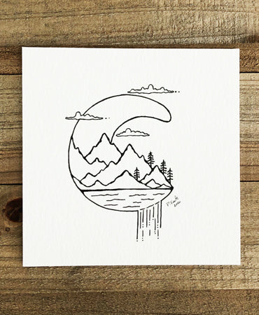 Original INK | Crescent Falls 4x4
