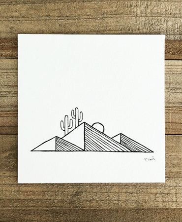 Original INK | Desert Lines 4x4
