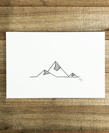 Original INK |  High Peaks 6x4