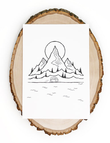 Original INK | New Adventures 5x7