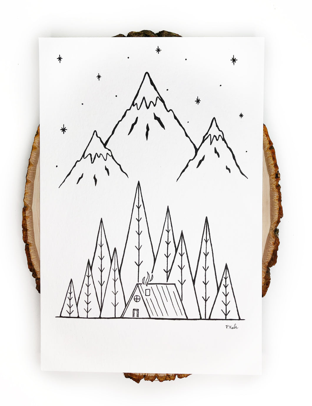 NEW Original INK | Wanderlust Cabin 6x9