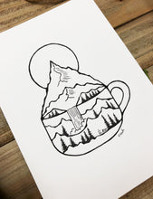 Load image into Gallery viewer, Original INK |  Morning Dose: Strong Brew 5x7