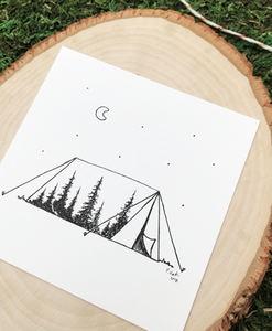 Wilderness 4x4 Art Print