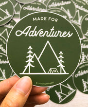 Load image into Gallery viewer, Made for Adventure Vinyl Sticker