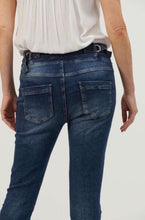 Load image into Gallery viewer, ITALIAN STAR TIE WAIST DENIM JEAN