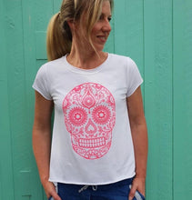 Load image into Gallery viewer, MEXICAN SKULL TEE