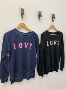 Urban Luxury Love Glitter Sweater