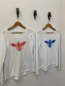 Urban Luxury Glitter Bee Tee