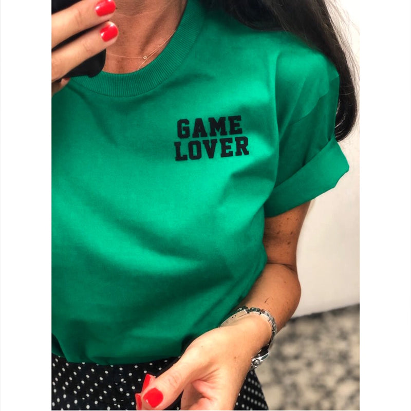 Tee-Shirt Game lover 2