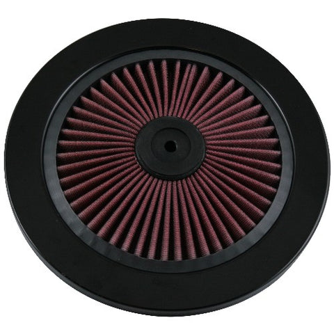 AIR FILTER ELEMENT LID 9in HI-FLO - REDLINE