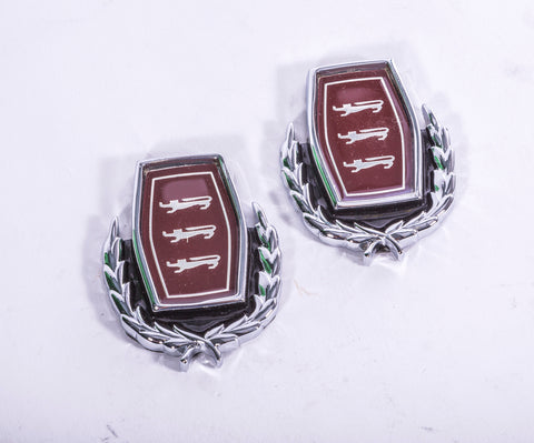 BADGE C PILLAR PAIR FAIRLANE NOS