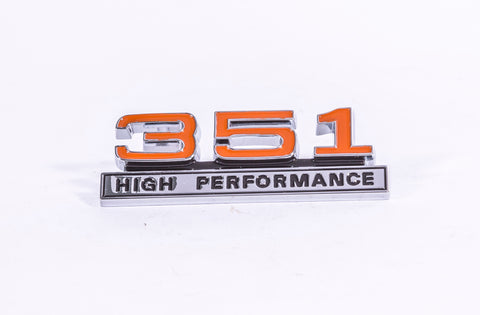 BADGE ENGINE 351 HIGH-PERF XWGT EXTERIOR