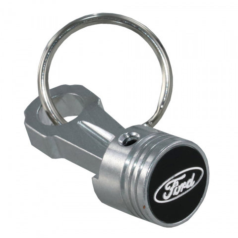 BILLET ALUMINIUM PISTON & ROD KEYRING