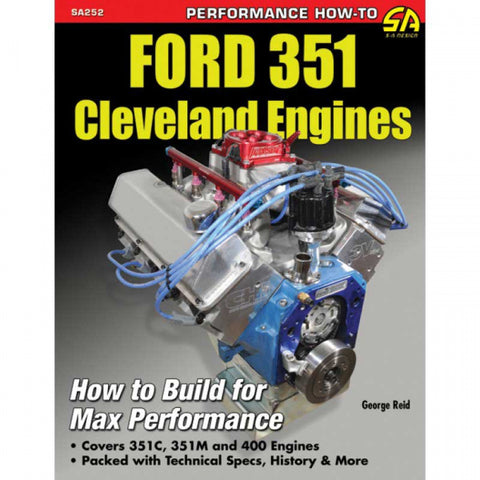 BOOK ENGINE CLEVELAND - HOW TO BUILD MAX PERFORMANCE - SA DESIGNS