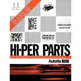 BOOK ENGINE HI-PER PARTS AUTOLITE 1968 - HOW TO MOD YOUR FE BIG BLOCK