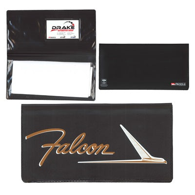 GLOVEBOX OWNERS MANUAL WALLET/POUCH - FALCON LOGO