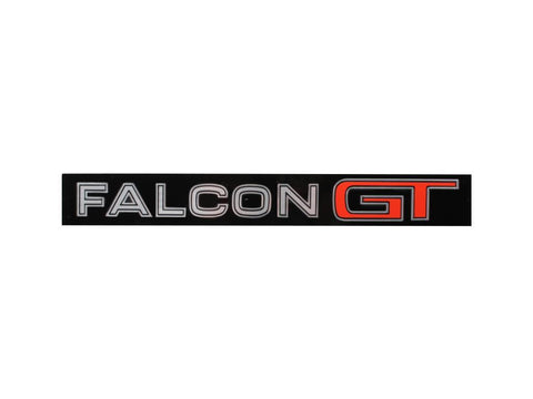 BADGE FALCON GT XYGT BOOT-FITS MOULDNG