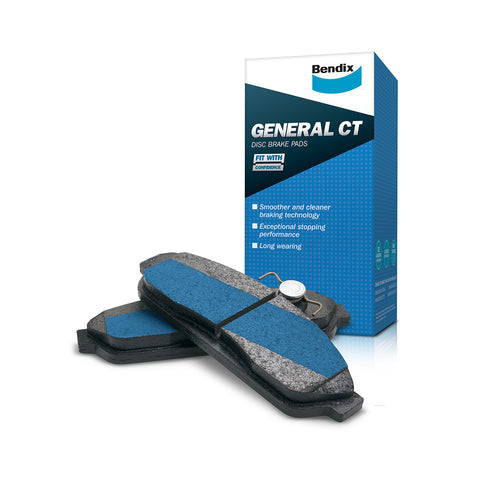 BRAKE PADS REAR EF-EARLY AU BENDIX GCT
