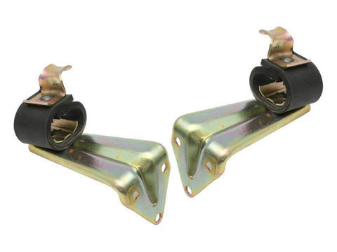 EXHAUST BRACKET XR-W FRONT/MUFFLER - PAIR
