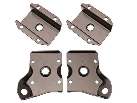 LEAF SPRING DIFF SADDLE PLATE SET XR-D/ZA-J 4-PC