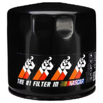 FILTER OIL K&N PRO SERIES (BLACK) SHORT STYLE