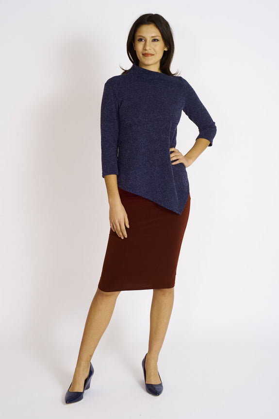 Ashmore Sweater Knit Onyx Top #ASH-0NX-1045 N…00 Bordeaux