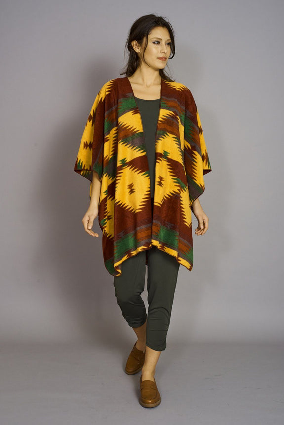 Navaho Print - Premium Mountain Fleece Cape - Code Vitesse