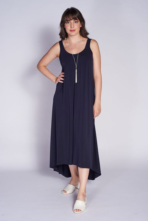 Summer Dress #SUM-5023 Navy - Code Vitesse