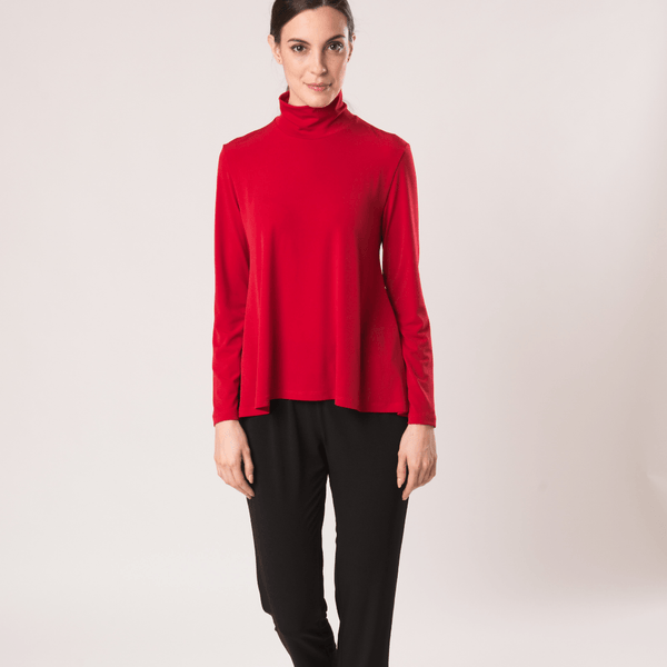 Mock Neck Top - Code Vitesse
