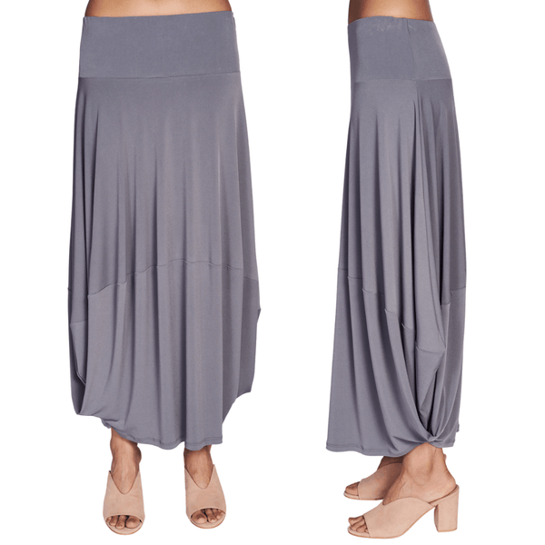 Balloon Skirt - Grey - Code Vitesse