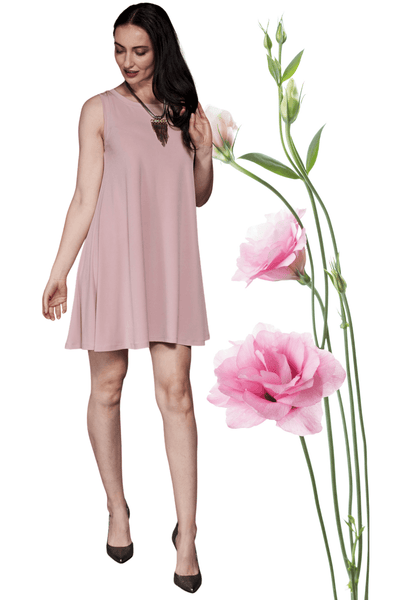 Aline Dress Rose - Code Vitesse